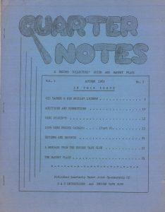 Quarter Notes